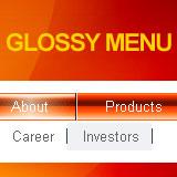 Glossy Flash Menu 1.0.5 software screenshot