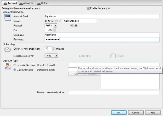 Hexamail POP3 Downloader 5.5.3 (014) software screenshot