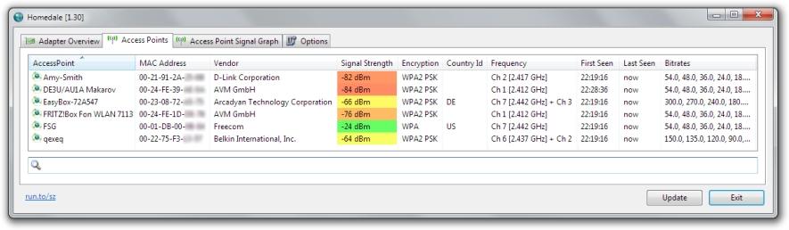 Homedale 1.68 software screenshot