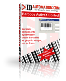 IDAutomation Barcode ActiveX Control 11.03 software screenshot