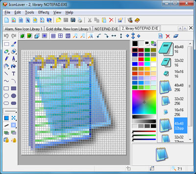 IconLover 5.45 software screenshot