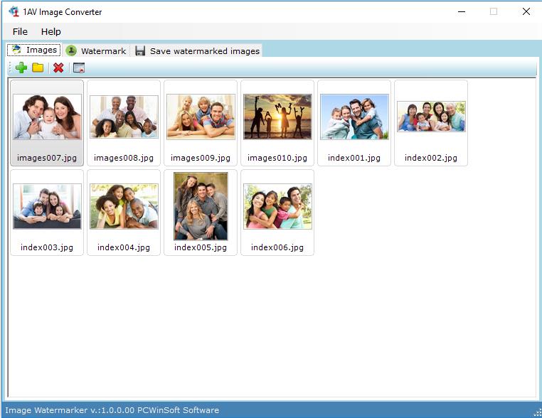Image Watermarker 1.0.1.90 software screenshot
