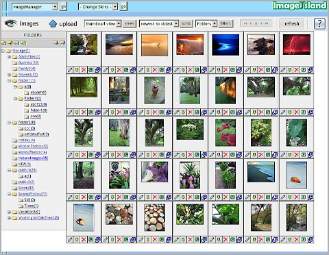 ImageIsland 3.00 software screenshot