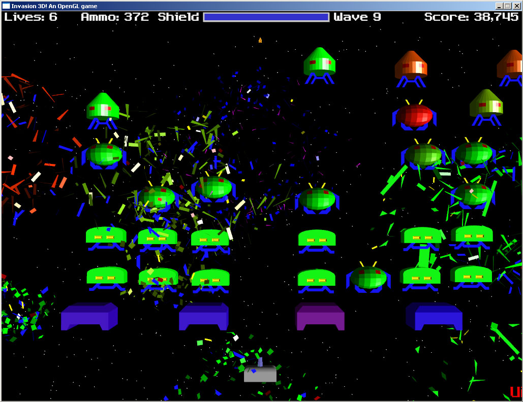 Invasion 3D 1.0.3-Win32 software screenshot