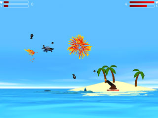 Island Wars 1.20 software screenshot