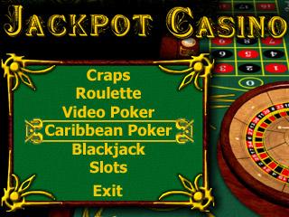 Jackpot Casino (Pocket PC) 2.4 software screenshot