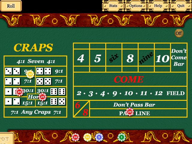 Jackpot Casino 1.01 software screenshot