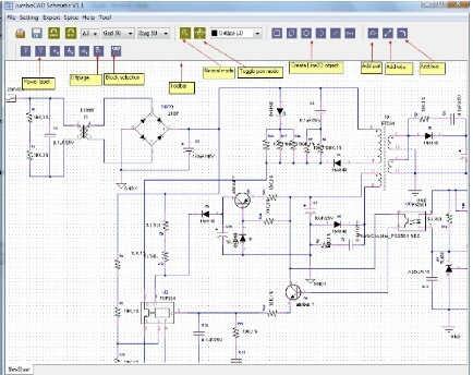 JumboCAD EDA 2.2 software screenshot