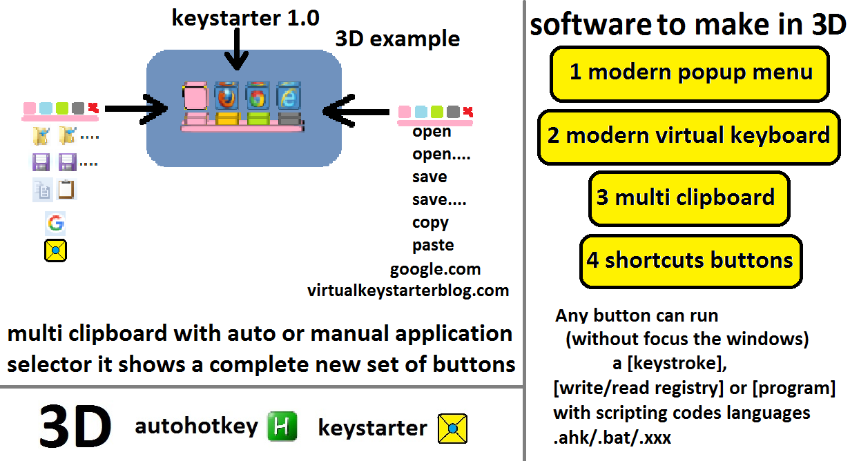Keystarter 1.0.10.2017 software screenshot