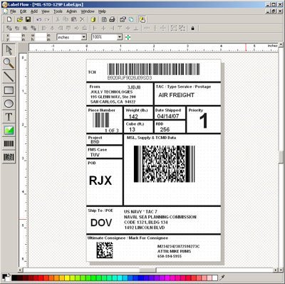 Label Flow - Barcode Software 4.3 software screenshot