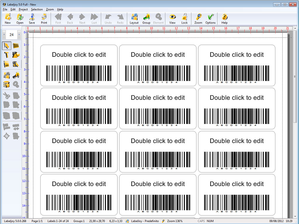 LabelJoy 5.4.601 software screenshot