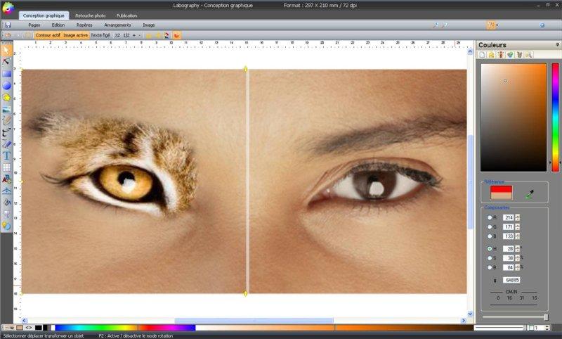 Labography 7.05 software screenshot