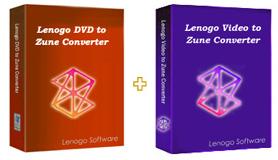 Lenogo DVD to Zune Converter + Video to Zune Powerpack 6.5 software screenshot