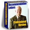 Letter Of Recommendation Sample 1.0 software screenshot