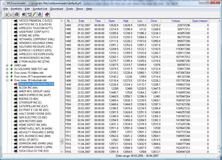 MLDownloader 7.1 software screenshot