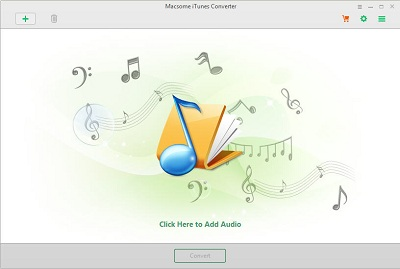 Macsome iTunes Converter 2.2.0 software screenshot