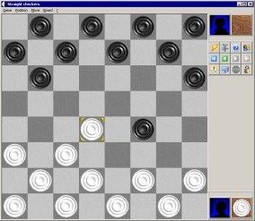 Mad Checkers 4.50 software screenshot