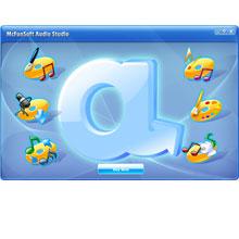 McFunSoft Audio Studio 7.4.1.10 software screenshot