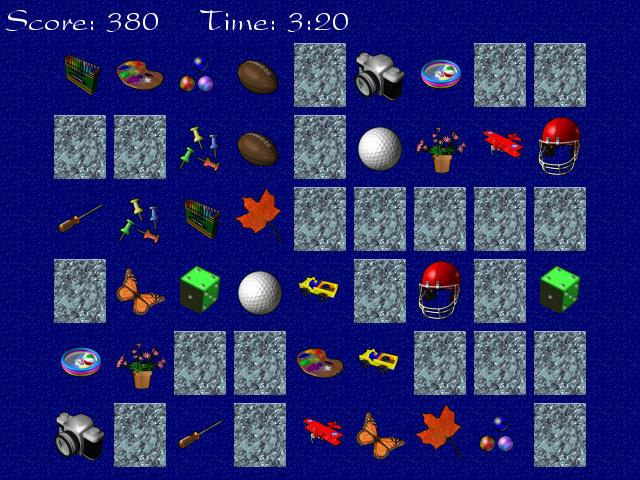 Memory Puzzle 3.0 software screenshot