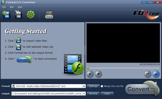 Moyea FLV to Video Converter Pro 2 2.0.17.194 software screenshot