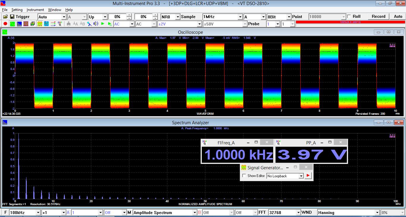 Multi-Instrument Pro 3.6 software screenshot