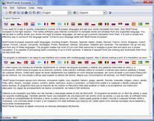 MultiTranse European 6.4 software screenshot