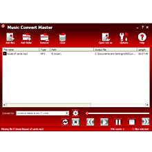 Music Convert Master 5.2.1.435 software screenshot