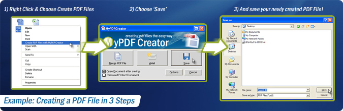 MyPDFCreator Vista 2.1.1 software screenshot