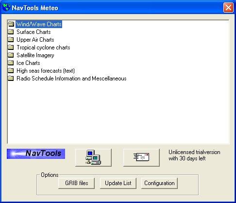 NavTools Meteo 6.12 software screenshot