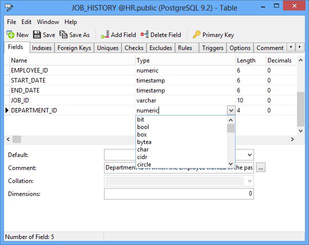 Navicat Essentials for PostgreSQL 12.0.9 software screenshot