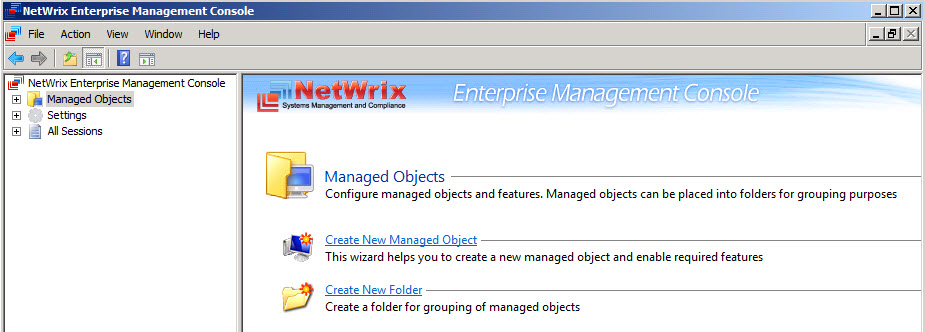 Netwrix Auditor 9.0.1692 software screenshot