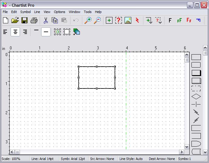 Novagraph Chartist Flowchart 5.2 software screenshot