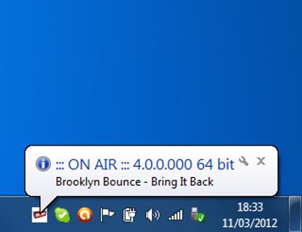 ON AIR 4.0.0.978 software screenshot