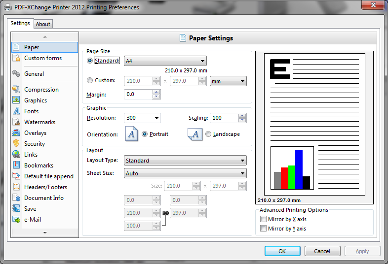 PDF-XChange Standard 6.0.322.2 software screenshot