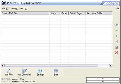 PDF to Tiff SDK/COM(10threads) Server License 4.6 software screenshot