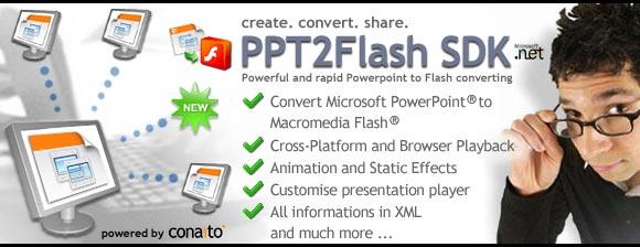 PPT2Flash 1.4 software screenshot