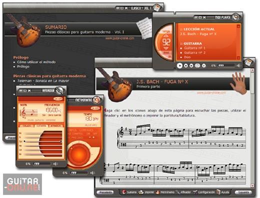 Piezas Clasicas para Guitarra - Vol 1 5.5 software screenshot