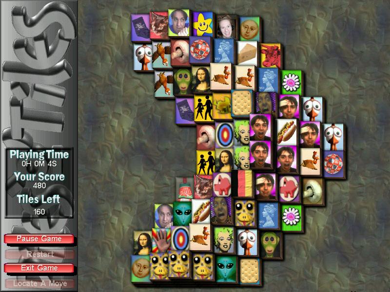 PilesOTiles Mahjongg 2.6.0 software screenshot