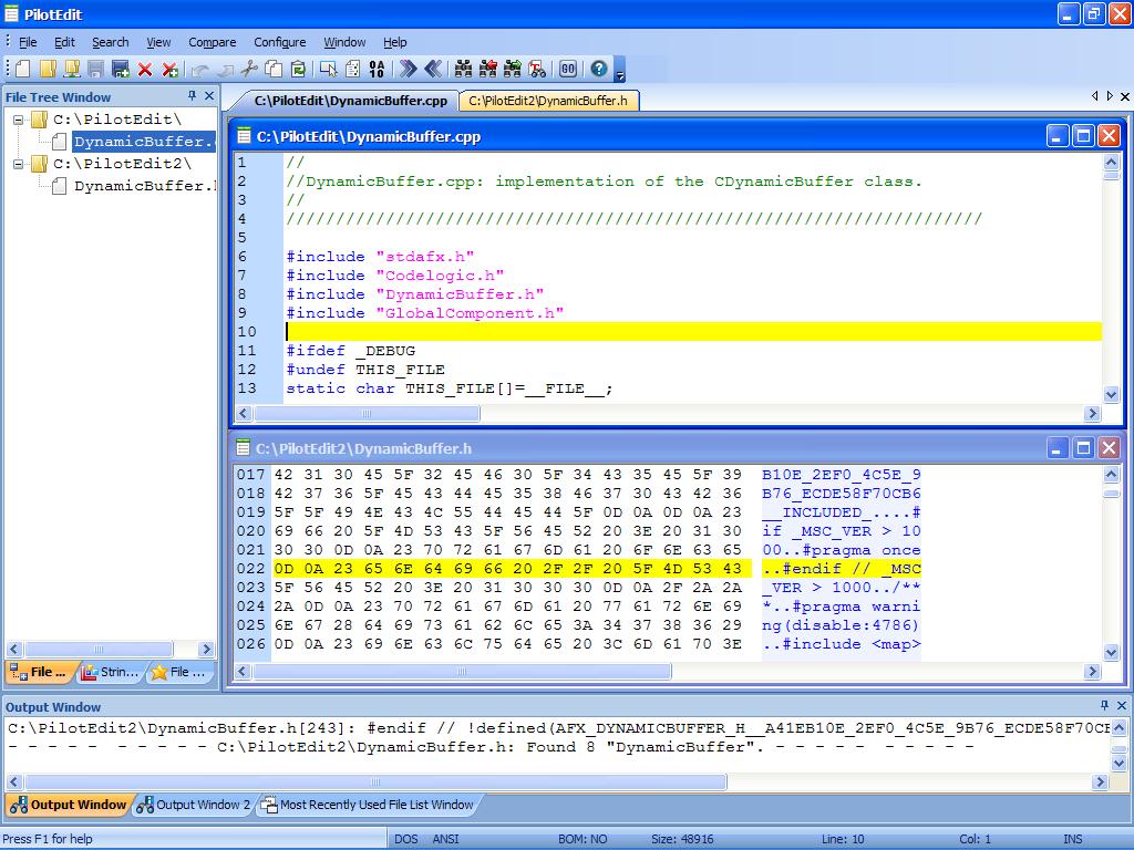 PilotEdit Lite 10.6.0 software screenshot