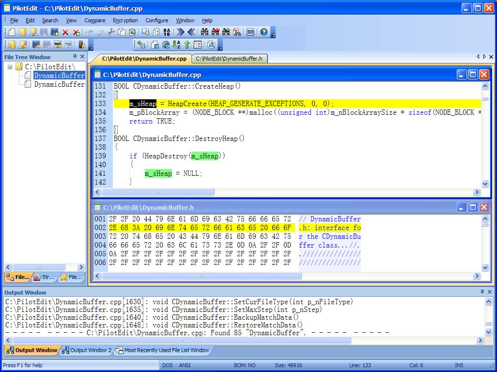 PilotEdit 10.6.0 software screenshot