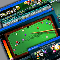 Play89 Online Pool 0.1 software screenshot