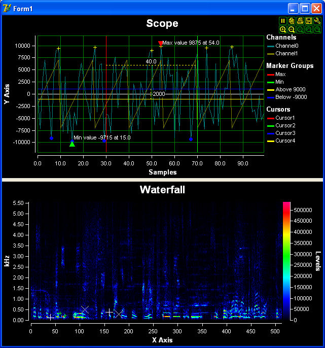 PlotLab .NET 5.0.1 software screenshot