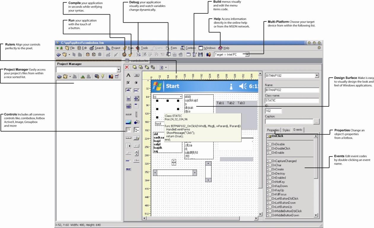 Pocket Programming Language FREE 1.62 software screenshot
