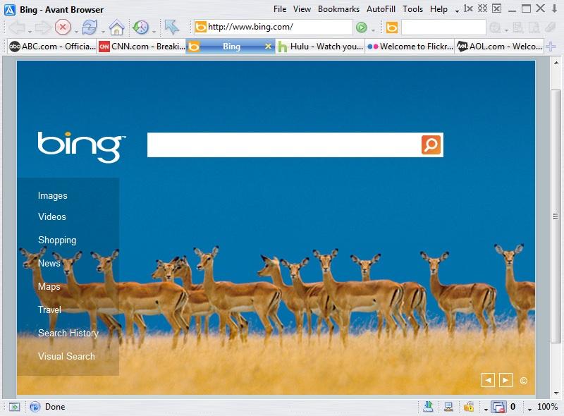 Portable Avant Browser Ultimate 2017.8 software screenshot