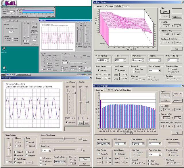 RAL / Realtime Analyzer Light 2.0.0.2 software screenshot