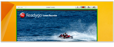 Readygo Screen Recorder 1.0.0.9 software screenshot