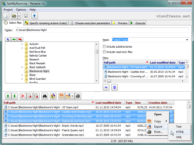 Rename Us Pro 4.0.5.7 software screenshot