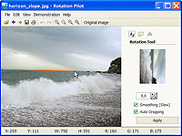 Rotation Pilot 1.0.4 software screenshot