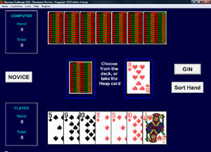 Rummy Challenge 2.0 software screenshot