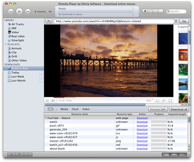 SWF & FLV Player for Mac 3.5 software screenshot